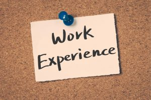 work experience